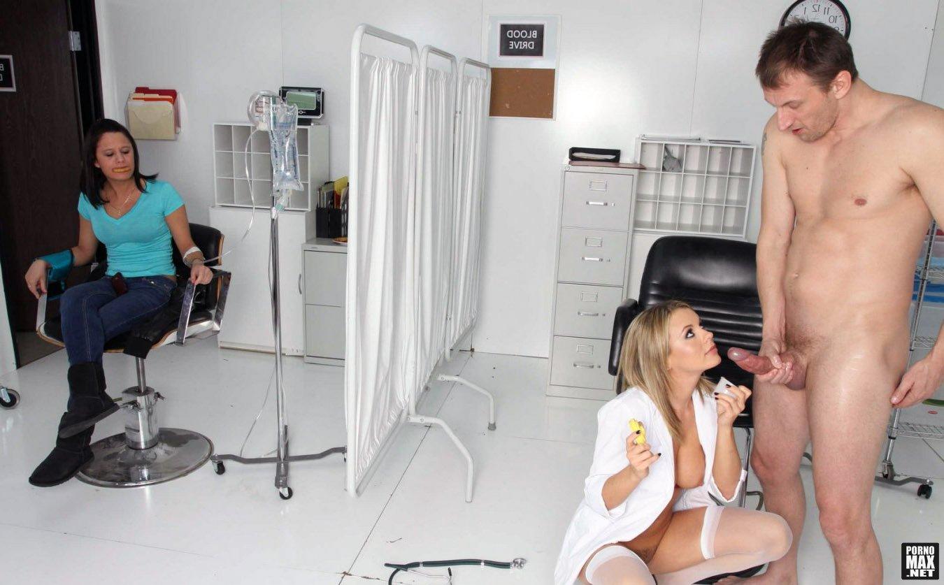 Сдача спермы с медсестрой 7 фотография