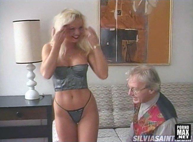 Сильвия сайнт со стариком в хорошем качестве 720 фотоография