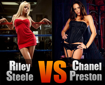 Riley Steele против Chanel Preston